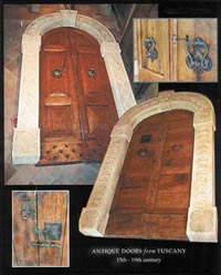 antique wooden doors - Antique reclaimed doors